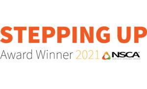 Stepping Up Awards Winner